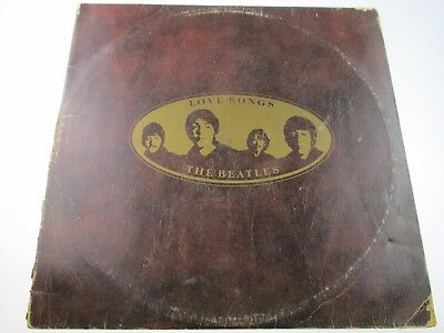 The Beatles - Love songs UK GATEFOLD DOUBLE VINYL LP 1st PRESSING EX