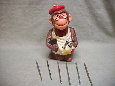 Vintage Monkey Nut Cracker Set