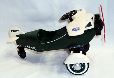 Metal HALLMARK 1935 STEELCRAFT AIRPLANE 1996 Kiddie Car Limited AIR MAIL