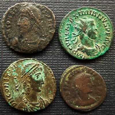Roman  Imperial; Lot of 4 AE coin; various types.