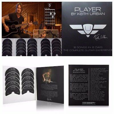 Player By Keith Urban 30 Songs in 30 Days The Complete Guitar DVD Set - Used