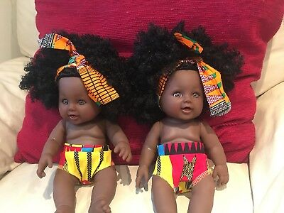 Black Doll with Afro Hair