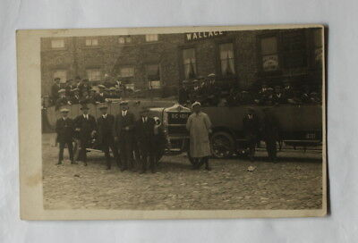 Middlesbrough Charabanc Bus Parked In Richmond Market Place