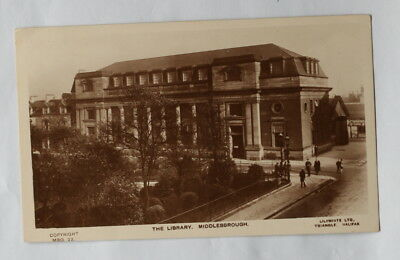 Middlesbrough, Carnegie Library Card 3