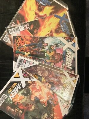 MEGA Comic Book Collection Lot Marvel X-Men Blue And Gold