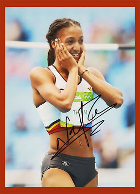 ★★ Nafissatou Thiam | 1.OS Rio 2016 + 1.WM/WC 2017 | Mehrkampf | 13x18 photo  ★★