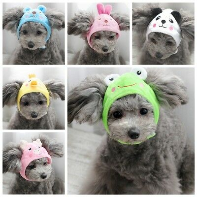 2019 Cats Dogs Cap Hat For Puppy Teddy Shapeshift cute small Animals Costume