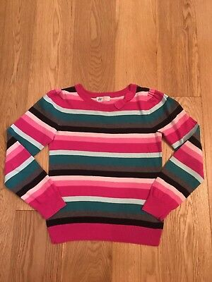 Girls Multicolor Top Jumper Bow age 8-10