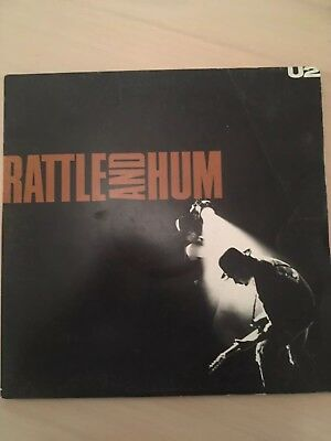 U2 Rattle And Hum LP Vinyl