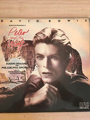 Peter and the Wolf [180 gm black vinyl], David Bowie, 8718469536900
