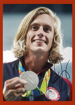 ★★ Evan Jager  | 2.OS Rio 2016 + 3.WM / WC 2017 | 3.000mH | 13x18 photo  ★★