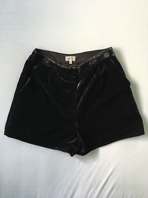 JACK WILLS Velvet Tailored Shorts Size 12 EXCELLENT CONDITION!