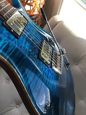 Paul Reed Smith Custom 22 Blue Matteo Rosewood neck 2008
