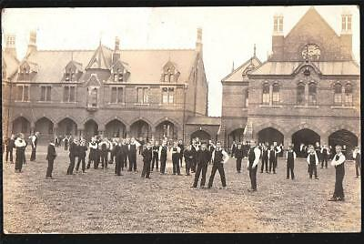 Watford Herts. L.g.a School 1905 Used  Real Photo Postcard