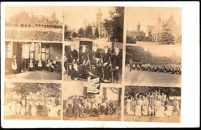 Watford Herts. L.g.a School 1906 Used  Real Photo Postcard