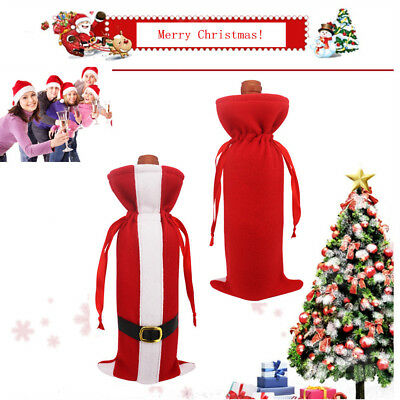 Christmas Wine Bottle Cover Bag Christmas Wine Bags Dinner Party Wine Decoration
