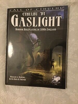 Cthulhu by Gaslight: Horror Roleplaying in 1890s England:(Call of Cthulhu)