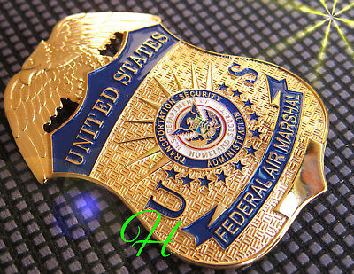j0/ Historisches police badge / US Federal Air Marshal  FAMS