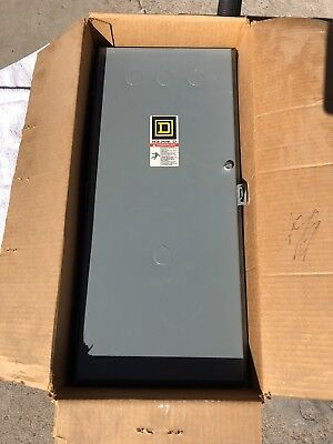 Square D 8903 Sqc2 Type S 100A Amp Lighting Contactor Enclosure Only New In Box
