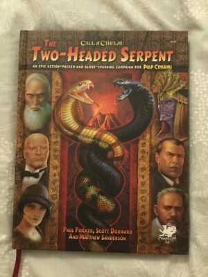 Two Headed Serpent Pulp Cthulhu Campaign
