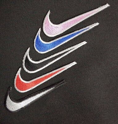 sports nike sign Embroidered Iron Sew On Patch Dress badge hat jacket biker