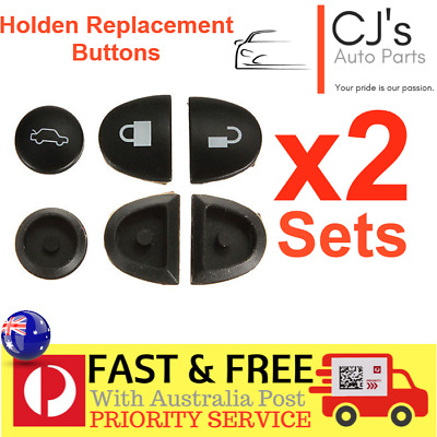 2X Sets Key Remote Buttons Holden Commodore Key Buttons VS VT VX VY VZ WH WK WL
