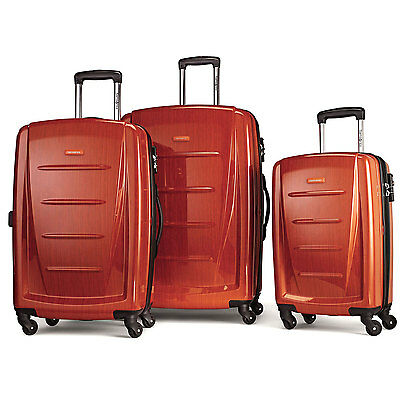 Samsonite Winfield 2 Fashion Hardside 3 Piece Spinner Set Orange (56847-1641)