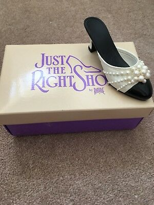 Just The Right Shoe Raine - Pearl Mule
