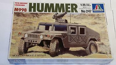 Italeri 247 M998 Hummer Tow Missile Launcher US Army Armoured Vehicle 1:35