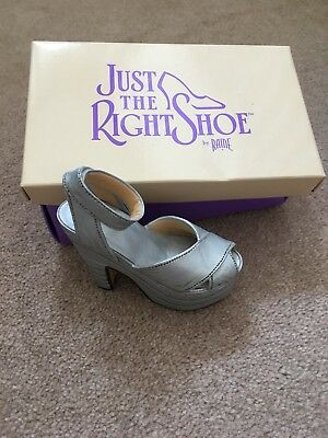 Just The Right Shoe Raine - Silver Cloud