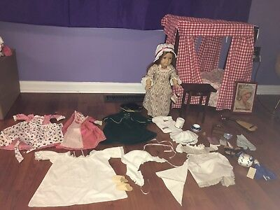American Girl Felicity Doll, Clothing, Accessories LOT Pre Mattel 1993 COLLECTOR