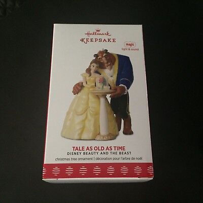 Tale as Old as Time - Beauty and the Beast - 2017 Hallmark Ornament