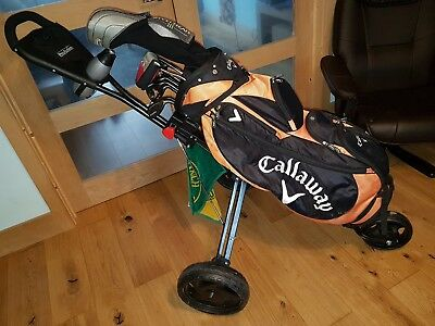 Callaway X24 HOT golf set, 2 bags, trolley and loads more.