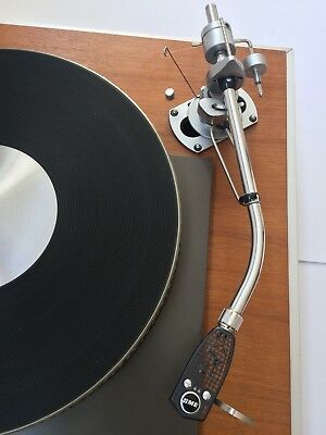 SME 3009 Tonearm (Non Improved)In Garrard 401 Plinth (No Turntable)