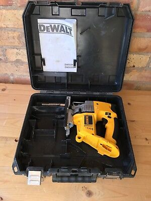 Dewalt Dw933 Type 1 18V Cordless Jigsaw Body And Carry Case Only