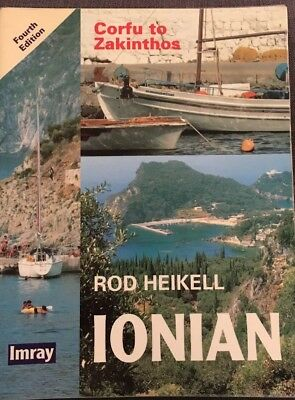Ionian: Corfu to Zakinthos (Imray), Rod Heikell