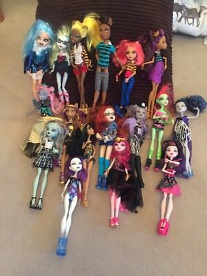Monster High Dolls Bundle & Accessories