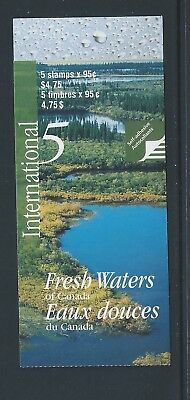 Canada Booklet 2000 Fresh Waters of Canada #BK229b MNH