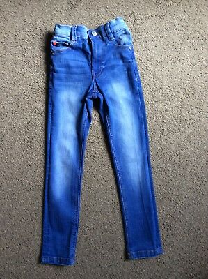 BNWOT Next Boys Blue Super Skinny Jeans Size Age 6 Years