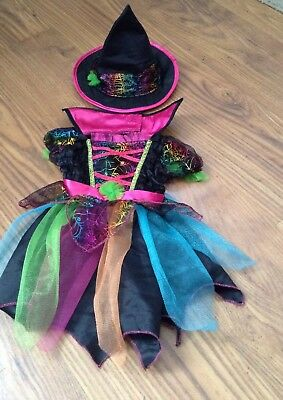 Baby Halloween Witches Costume Including Hat Size 0-3 Months