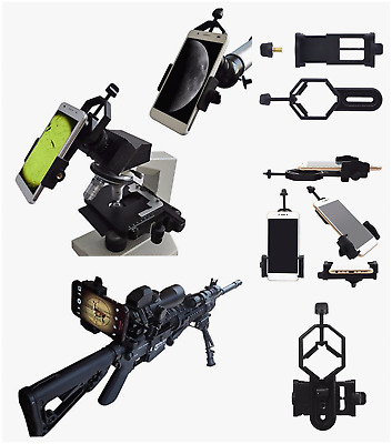Mount Spotting Rifle Scope Universal Phone Digiscoping Monocular Cam Adapter New