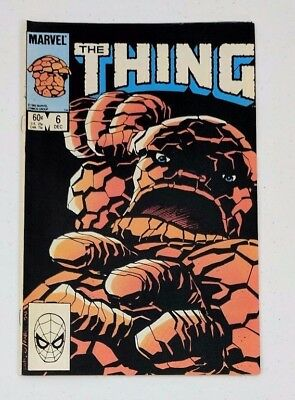 The Thing - #6 - Dec 1983 - Marvel Comics - Very Fine (VF)
