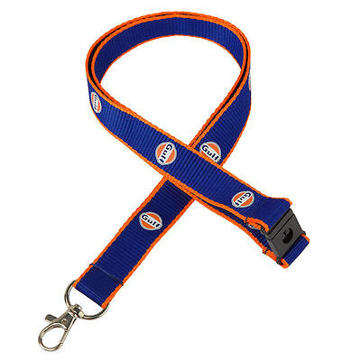 Authentic Gulf Lanyard  - Free Uk Ship - Le Mans- Official Merchandise