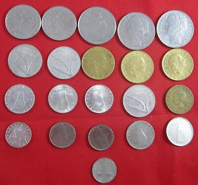 21 Italy coins