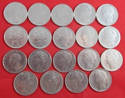 19 Italy coins