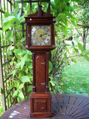 Glorious, Individual, Half Size 8 Day Antique Longcase / Grandfather Clock