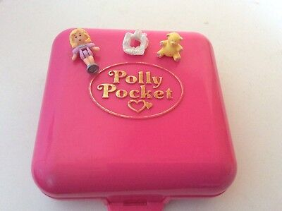 Vintage Polly Pocket 1989 PARTYTIME SURPRISE 100% Complete