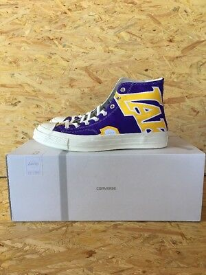 43caf8326cd6f4 MEN S SIZE 8 Converse NBA Los Angeles Lakers Chuck Taylor All Stars ...