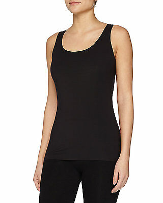 Wolford Pure Seamless Tank Top Black NWT size XSmall