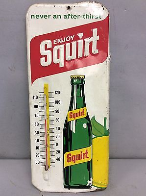 """Squirt Advertising Thermometer 13.5""""x6"""""""